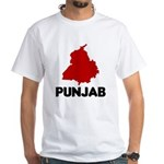 Punjab White T-Shirt
