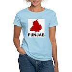 Punjab Women's Pink T-Shirt