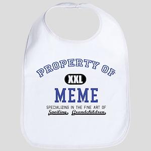 Property of Meme Bib