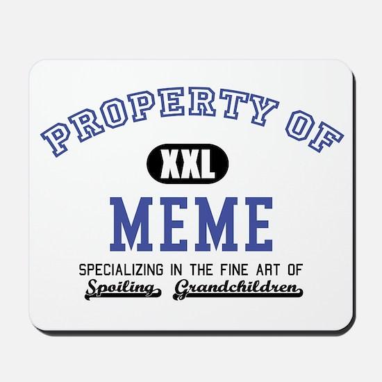Property of Meme Mousepad