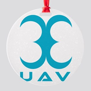 33 UAV Round Ornament