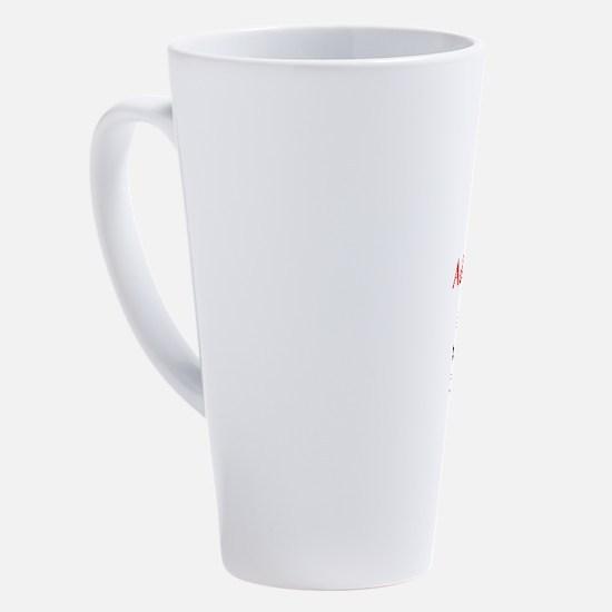 Unique Alan 17 oz Latte Mug
