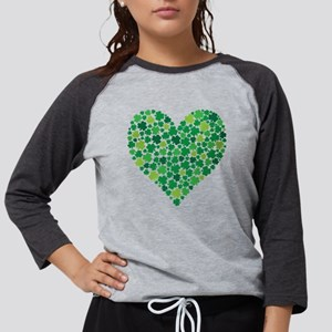 Irish Shamrock Heart - Men's T Long Sleeve T-S