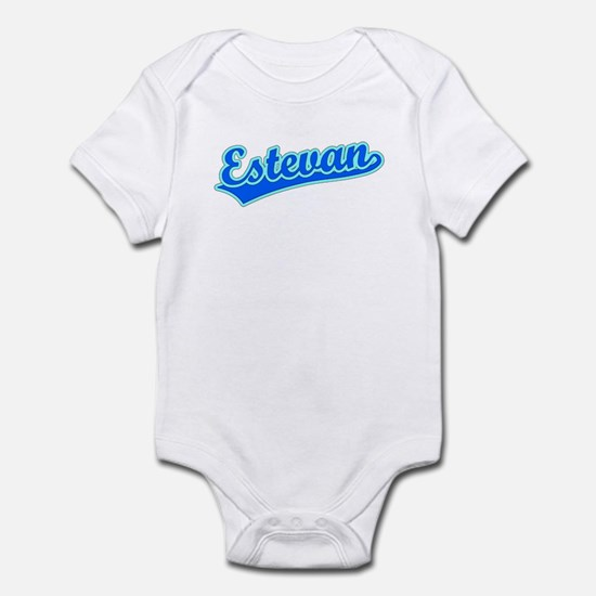 Retro Estevan (Blue) Infant Bodysuit
