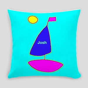 Josh Sailing Maven Blue Everyday Pillow