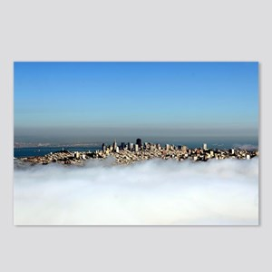 San Francisco Aerial SFBAYIMAGES Skyline Postcards