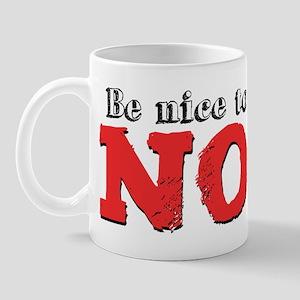 Be Nice to the Noob Mug