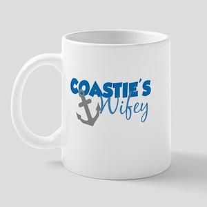 Coastie's Wifey (Blue) Mug
