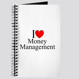 """I Love (Heart) Money Management"" Journal"