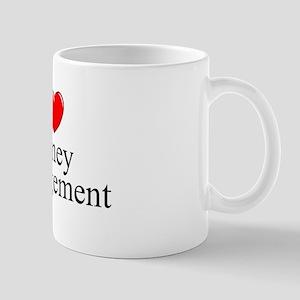 """I Love (Heart) Money Management"" Mug"