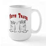 White Trash Apparel Large Mug