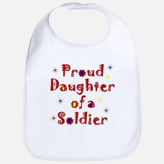 Proud Daughter Colorful Bib