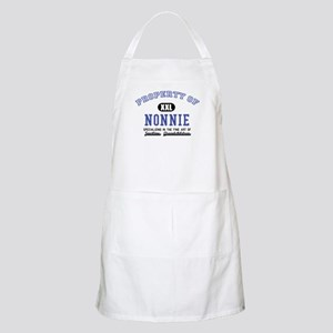 Property of Nonnie BBQ Apron