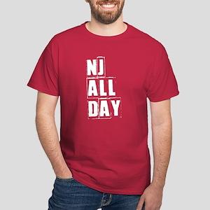 NJ ALL DAY Dark T-Shirt