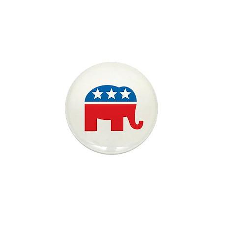 Republican Elephant Logo Mini Button (10 pack)
