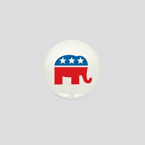 Republican Elephant Logo Mini Button