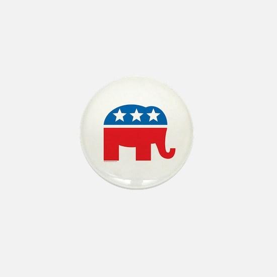 Republican Elephant Logo Mini Button