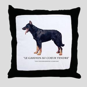 Tenderhearted Guardian Throw Pillow