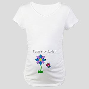 Future Biologist Maternity T-Shirt