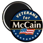 Veterans for McCain Magnet