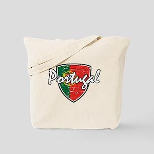 Portuguese distressed Flag Tote Bag