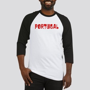 Portugal Faded (Red) Baseball Jersey