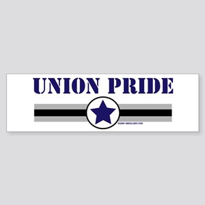 UNION PRIDE STAR Bumper Sticker