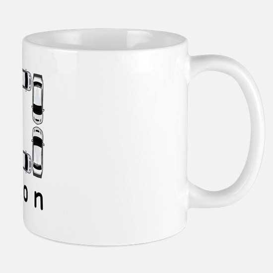 Lancer Evolution IX Mug