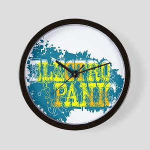 Electro Panic Wall Clock