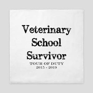 Vet School Survivor 2018 Queen Duvet