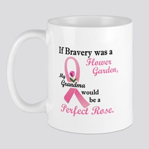 Bravery A Flower Garden 1 (Grandma) Mug