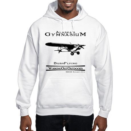 Alaska's Gym Bush Plane Hooded Sweatshirt