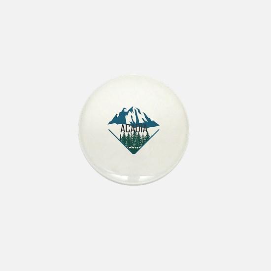 Unique Acadia national park Mini Button