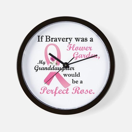 Bravery A Flower Garden 1 (Granddaughter) Wall Clo