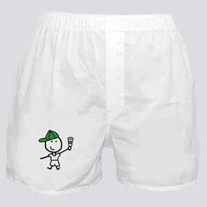 Boy & Coffee Boxer Shorts