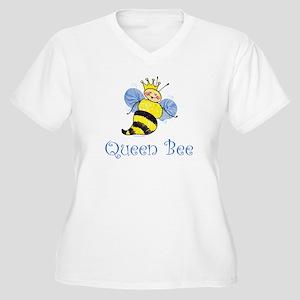 Queen Bee Women's Plus Size V-Neck T-Shirt