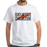 SAR COMM 2 White T-Shirt