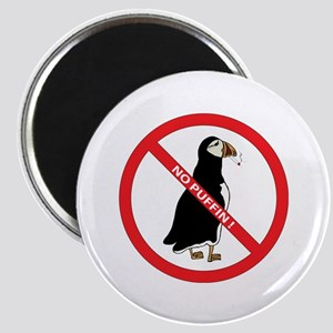 No Puffin Magnet