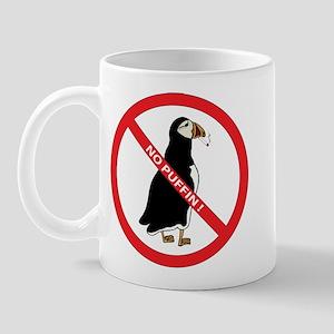 No Puffin Mug