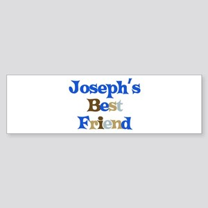 Joseph's Best Friend Bumper Sticker