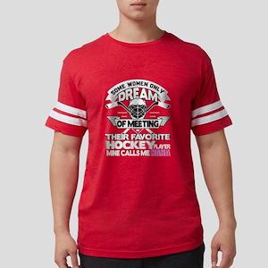 Their Favorite Hockey Player Mine Calls Me T-Shirt
