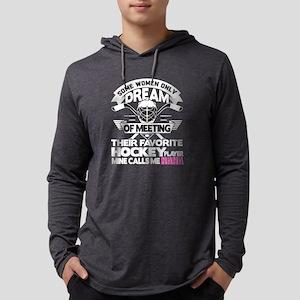 Their Favorite Hockey Player M Long Sleeve T-Shirt