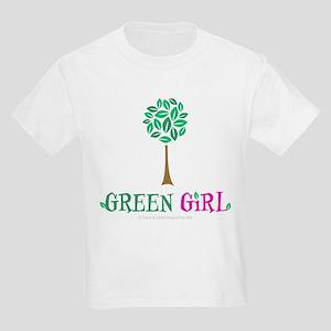 Green Girl Kids Light T-Shirt
