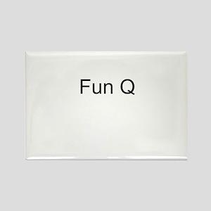 Fun Q Rectangle Magnet