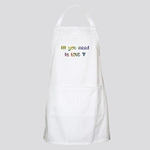 All You Need Is Love BBQ Apron