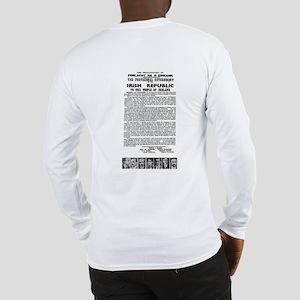 """The Irish Proclamation"" Long Sleeve T-Shirt"