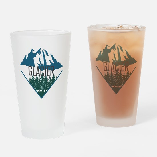 Cute Glacier national park Drinking Glass