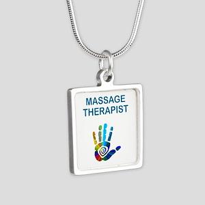 MASSAGE THERAPIST w HAND Necklaces