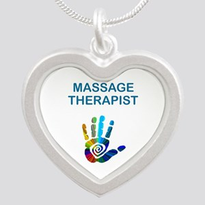 MASSAGE THERAPIST w HAND Necklaces