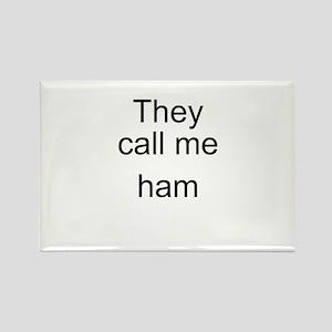 Ham Rectangle Magnet